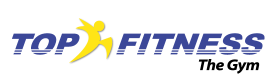 logo GIMNASIO TOP FITNESS, THE GYM